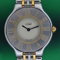 Cartier Must 21 Lady 31mm Medium 18k Gold Steel