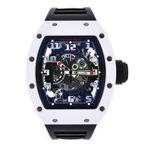 "Richard Mille ""White Rush"" ATZ Ceramic & NTPT Carbon Watch"