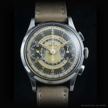 Omega 33.3 Chrono two tone pulsometer dial