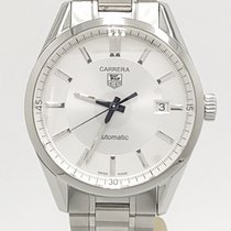 TAG Heuer Carrera Caliber 5 Wv211a-3 Stainless Steel Watch
