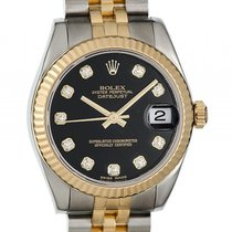 Rolex Datejust Medium 31mm Stahl Gelbgold Jubilé Armband...