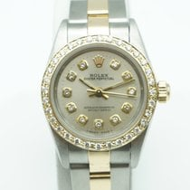 Rolex Oyster Perpetual Lady Two Tone Diamond Dial &...