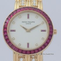 Patek Philippe Ruby Diamond Yellow Gold 5018/12