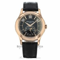 Patek Philippe Annual Calendar Rose Gold Black Dial