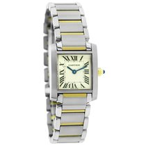 Cartier Tank Francaise Two Tone Swiss Quartz Watch W51007Q4