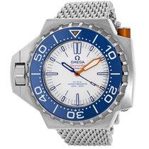 Omega Seamaster PloProf white dial blue bezel
