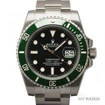 롤렉스 (Rolex) Rolex Submariner Ceramic Bezel 116610LV (NEW)