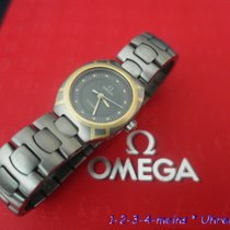 Omega Seamaster Mini Damenuhr Titan/Gold 18 Karat