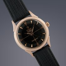 Omega Constellation Rose-gold capped automatic watch