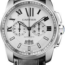 Cartier Calibre de Cartier Chronograph Edelstahl