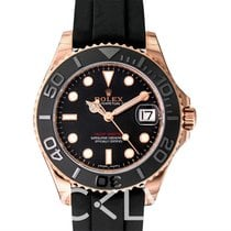 Rolex Yacht-Master Black/Everose Gold Lady 37mm - 268655
