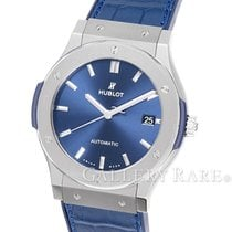 "Hublot Clasic Fussion Blue Dial Tintanium 45MM ""2017"""