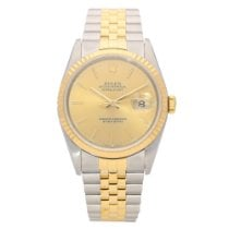 Rolex Datejust 16233 - Gents Watch - Champagne Dial -1991