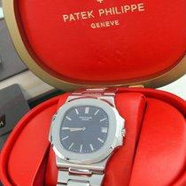 """Patek Philippe Nautilus 3700/01 Jumbo """"Blue Steel"""",aus..."""