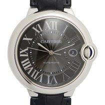 Cartier Ballon Bleu Stainless Steel Black Automatic WSBB0003