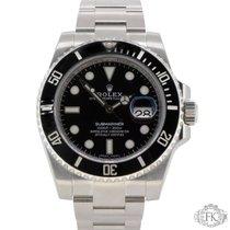 Rolex Submariner Date | Stainless Steel Black Ceramic Bezel |...