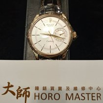 Rolex HOROMASTER-Cellini Date Rose Gold Silver Dial NEW MODEL...