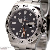 Rolex Explorer II Ref-216570 Stainless Steel Box Papers...