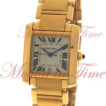 Cartier Tank Francaise Large Automatic, Silver Dial - Yellow...