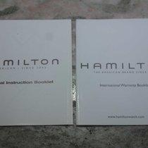 Hamilton vintage kit  booklet warranty papers newoldstock
