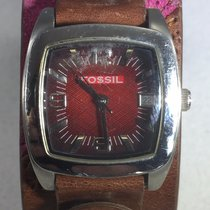 Fossil Stainless Steel Womens  Quartz Watch 12 Hour Dial...