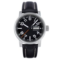Fortis COSMONAUTIS SPACEMATIC CLASSIC Black Leather Day 6231041