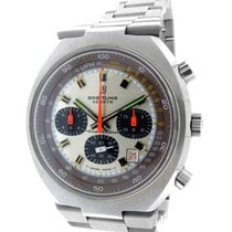 """Breitling """"Transocean"""" Stainless Steel Chronograph"""