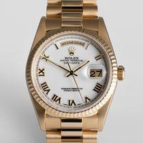 """Ρολεξ (Rolex) Day-Date """"Rolex Warranty"""""""