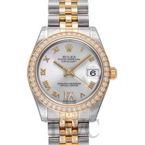 롤렉스 (Rolex) Datejust Lady 31 mm Silver/18k gold Ø31 mm - 178383