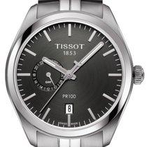 Tissot T-Classic PR 100 Dual Time Herrenuhr T101.452.11.061.00