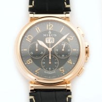 Milus Rose Gold Zetios Chronograph Automatic Watch