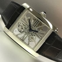 Cartier - Tank Skeleton Dial PL AT 40 GL TB