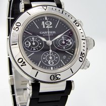 "Cartier ""Pasha SeaTimer 2995 Chronograph"" Watch - 43mm..."