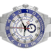Rolex Mens Rolex Yacht Master II Stainless Steel 44 MM 116680...