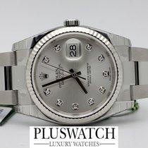 Rolex DATEJUST 116234  Diamonds Diamanti 18ct