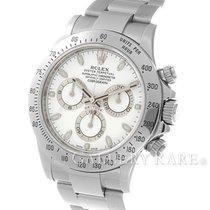 """ロレックス (Rolex) Cosmograph Daytona White Dial Steel 40MM """"G..."""
