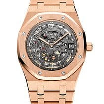 Audemars Piguet Audemars Royal Oak Openworked 39mm Black...
