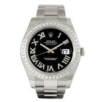 Rolex Datejust II Diamond Dial Diamond Bezel 116300