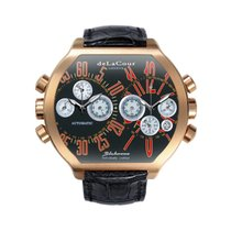 DeLaCour Bichrono S2 Rose Gold Black And Red