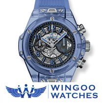 Hublot BIG BANG UNICO BLUE SAPPHIRE Ref. 411.JL.4809.RT