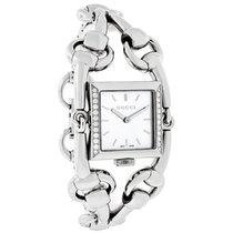 Gucci Signoria 116 Diamond Ladies White Mop Dial Swiss Watch...