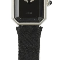 Chanel | A Lady's Platinum Octagonal Wristwatch Case...