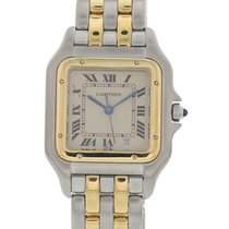 Cartier Panthere Midsize 1100 18K Yellow Gold & SS