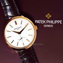 Patek Philippe 5123 Calatrava 18k Rose Gold Mens Watch...