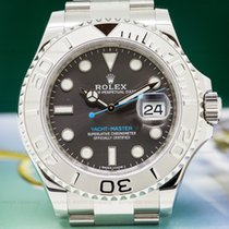 Rolex 116622 116622 Yacht Master SS Rhodium Dial / Platinum...