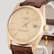 Rolex Oyster Perpetual Date 18kt Gelbgold Ref. 15038