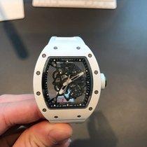 Richard Mille RM 055 Bubba Watson White RM 55