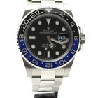 Rolex GMT Master II blue black Batman
