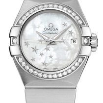 Omega Constellation Co-Axial Automatic Star 27mm 123.15.27.20....