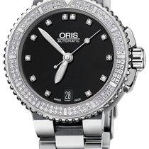 Oris Aquis Date Diamonds 36mm 01 733 7652 4994-07 8 18 01P